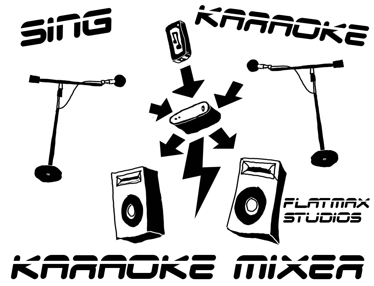 flatmax studios karaoke mixer