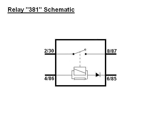 Spst Relay Schematic Symbol Relays Internals