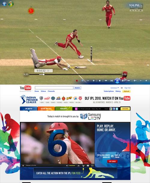 IPL indian premier league cricket channel 10 ONE HD
