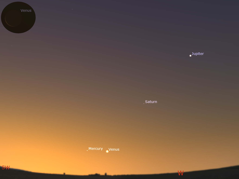 evening sky, 21:35 pm