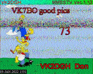 2nd previous previous RX de VK4VJR