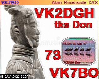 3rd previous previous RX de VK4VJR